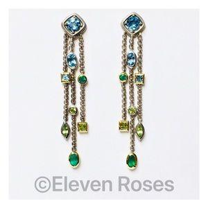 David Yurman Sterling 18k Confetti Tassel Earrings